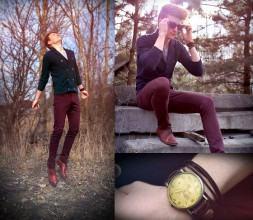 foto calça colorida