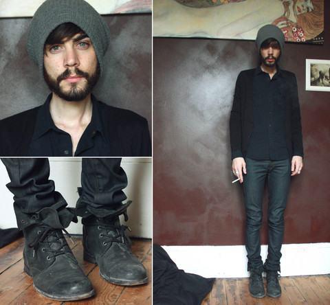 foto calça masculina jeans