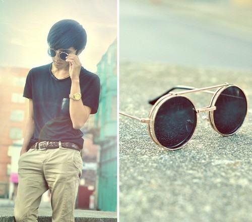 foto óculos redondo