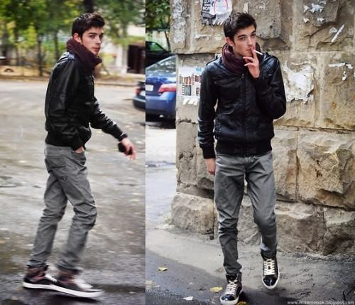 foto homem de jeans