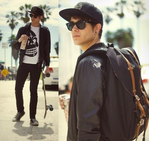 foto moda masculina skate