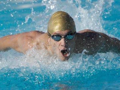 foto nadando