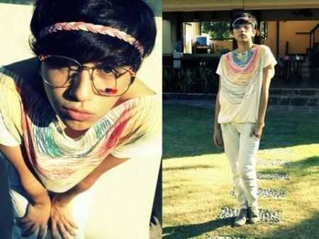 foto roupa hippie