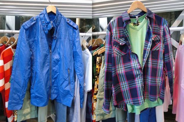 foto jaqueta e camisa xadrez renner