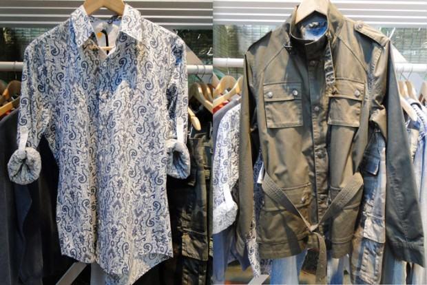 foto camisa e jaqueta