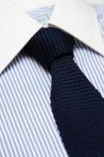 foto gravata de algodão