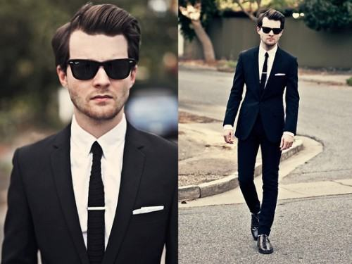 foto traje formal