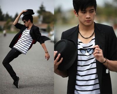 foto blazer preto