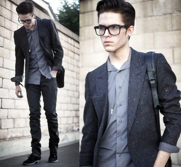 foto homem bem vestido