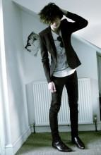 foto blazer e camiseta