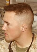 foto cabelo militar