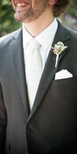 gravata poá bolinhas