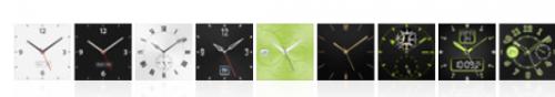 relógios nano