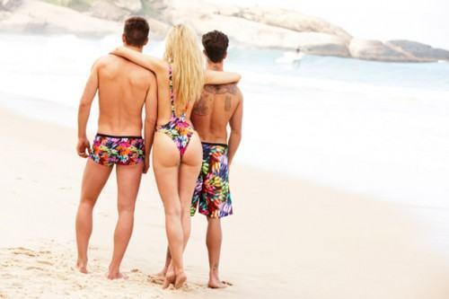 Moda sunga de praia