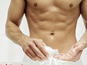 foto higiene íntima masculina