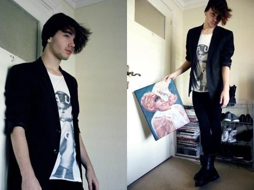 foto calça legging masculina
