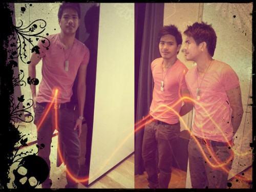 foto camiseta rosa