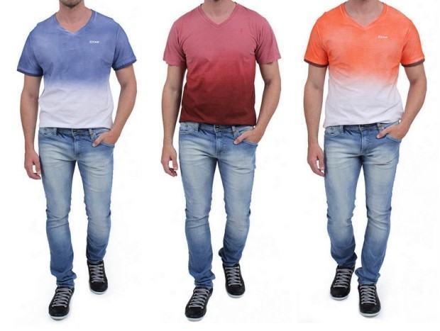 camisetas degrade