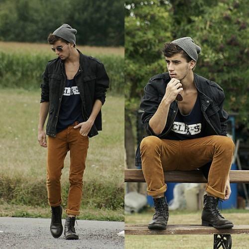 foto roupa para homem alto