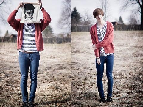foto estampa masculina na moda navy