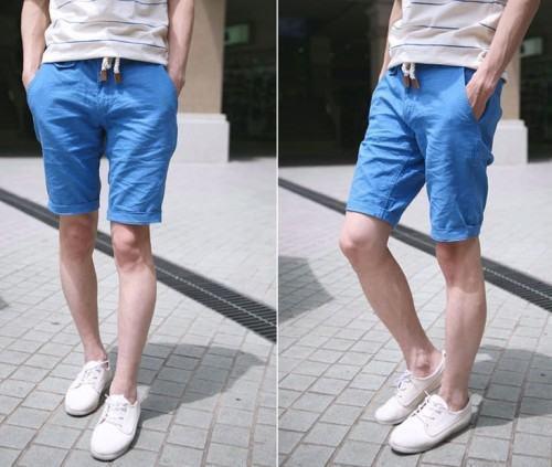 foto bermuda azul masculina 3