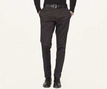 foto calça afunilada masculina