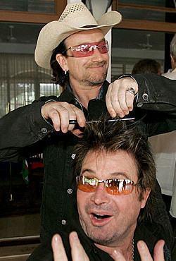 foto chapéu do bono vox