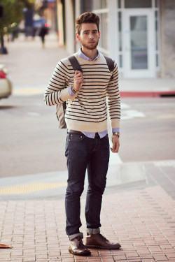 foto look com suéter