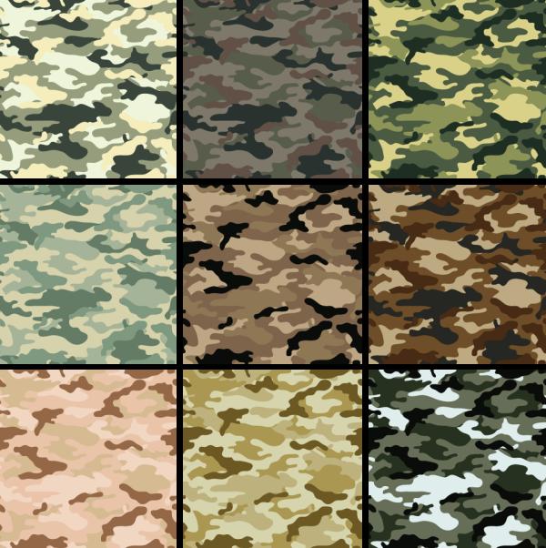 foto modelos de estampas camufladas