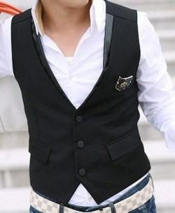 foto colete masculino