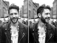estilo de barba rosto triangular 2