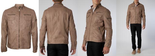 foto jaqueta marrom