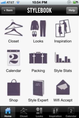 foto aplicativo iphone para criar look