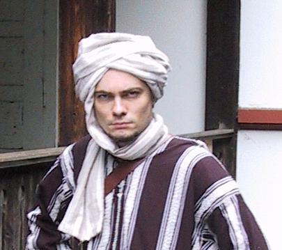 foto turbante masculino