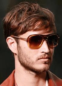 foto franja masculina