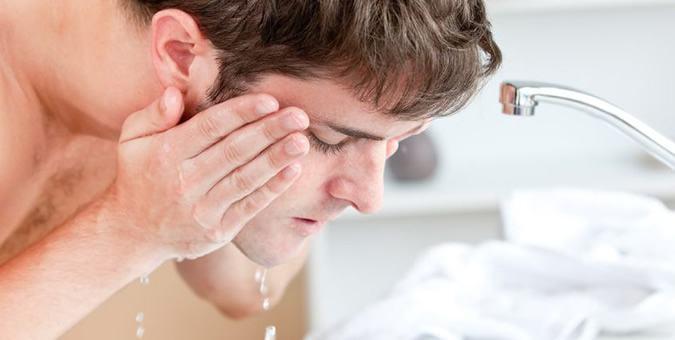 limpeza de pele masculina