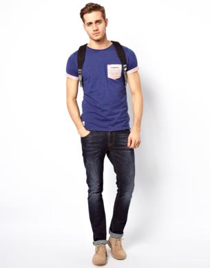 bolso estampado etnico camiseta