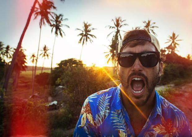 camisa havaiana masculina