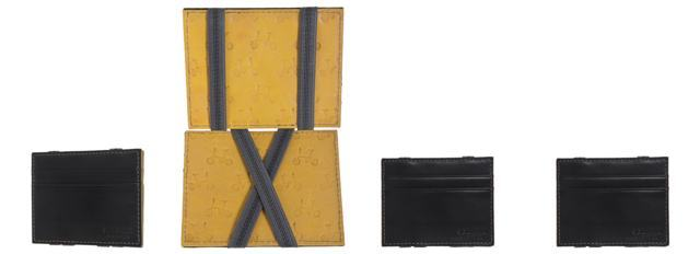 carteira slim richards com elastico