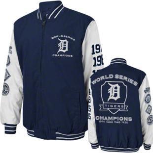 jaqueta baseball detroit tigers