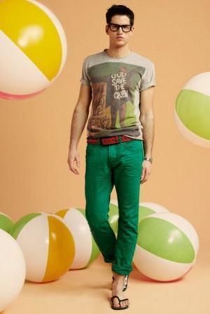 como usar calça verde esmeralda