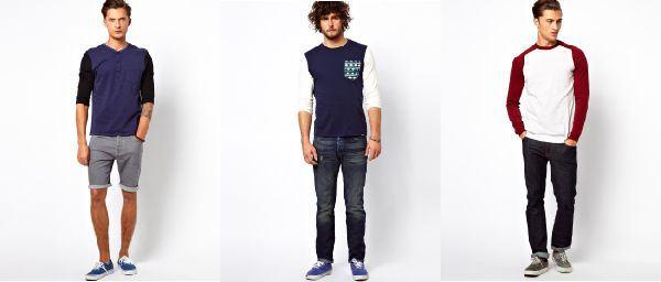 como usar camisa de manga longa com manga contraste