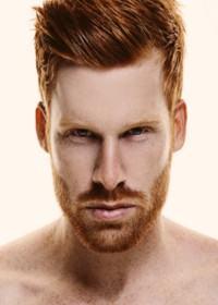 corte de cabelo ruivo masculino