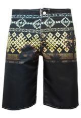 estampa etnica bermuda coca cola clothing