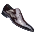 sapato de verniz democrata masculino marrom