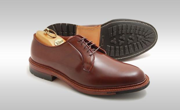 sapato derby plain toe