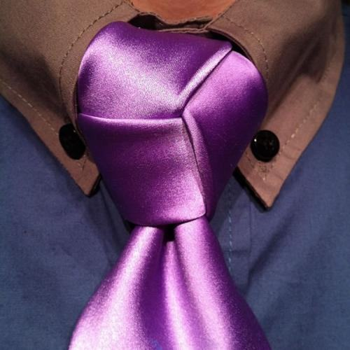 tipo de nó de gravata diferente