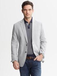 blazer combina com camisa polo