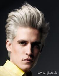 cabelo platinado branco masculino