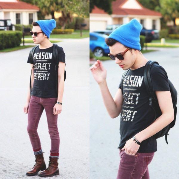 calça de veludo legging masculina